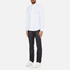 Michael Kors Men's Slim Long Sleeve Shirt - White: Image 4