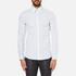 Michael Kors Men's Slim Fit Landon Long Sleeve Shirt - Ocean: Image 1