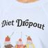 Wildfox Women's Diet Dropout Kims Sweatshirt - Blue Tears: Image 5