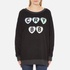 Wildfox Women's Cry Baby Roadtrip Sweatshirt - Clean Black: Image 1
