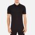 Versace Collection Men's Chest Logo Polo Shirt - Black: Image 1