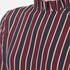 Ganni Women's Donaldson Silk Stripe Dress - Cabernet Stripe: Image 4