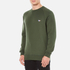 Maison Kitsuné Men's Tricolor Patch Sweatshirt - Khaki: Image 2