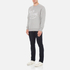 Maison Kitsuné Men's Palais Royal Sweatshirt - Grey Melange: Image 4