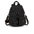 Kipling Women's Firefly Medium Backpack - Dazzling Black: Image 1