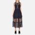 Three Floor Women's Narcissa Dress - Midnight Blue/Black: Image 1