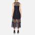 Three Floor Women's Narcissa Dress - Midnight Blue/Black: Image 3