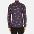 PS by Paul Smith Men's Printed Long Sleeve Shirt - Navy: Image 3