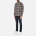 PS by Paul Smith Men's Checked Long Sleeve Shirt - Navy: Image 4