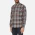 PS by Paul Smith Men's Checked Long Sleeve Shirt - Navy: Image 2