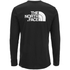 The North Face Men's Long Sleeve Easy T-Shirt - TNF Black: Image 2