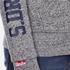 Superdry Men's Trackster Zip Hoody - Flint Grey Grit: Image 7