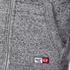 Superdry Men's Trackster Zip Hoody - Flint Grey Grit: Image 6