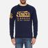 Superdry Men's Classics True Indigo Crew Sweatshirt - Classic Indigo: Image 1