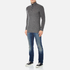 Superdry Men's Harrow Regatta Henley Jumper - Gunmetal Twist: Image 4