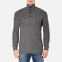 Superdry Men's Harrow Regatta Henley Jumper - Gunmetal Twist: Image 1