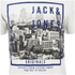 Jack & Jones Men's Originals Coffer T-Shirt - Cloud Dancer/Teal: Image 3