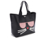 Karl Lagerfeld Women's K/Kocktail Choupette Shopper Bag - Black: Image 3