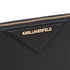 Karl Lagerfeld Women's K/Klassik Zip Around Wallet - Black: Image 3