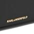 Karl Lagerfeld Women's K/Klassik Micro Tote Bag - Black: Image 4
