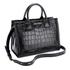 Karl Lagerfeld Women's K/Klassik Croco Tote Bag - Black: Image 3