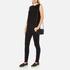 Karl Lagerfeld Women's K/Kuilted Small Cross Body Bag - Black/Black: Image 2