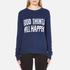 Levi's Women's Favourite Crew Neck Sweatshirt - Yacht Embroidery: Image 1