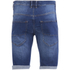 Crosshatch Men's Skylo Denim Shorts - Stone Wash: Image 2