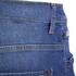 Crosshatch Men's Skylo Denim Shorts - Stone Wash: Image 5