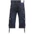 Crosshatch Men's Kanaster Denim Shorts - Dark Wash: Image 2