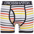 Crosshatch Men's Refraction 2-Pack Boxers - Black: Image 2