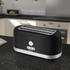 Swan ST10090BLKN 4 Slice Longslot Toaster - Black: Image 3