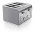 Swan ST17010GRN 4 Slice Retro Toaster - Grey: Image 1