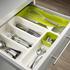 Joseph Joseph Drawerstore Cutlery Drawer - White: Image 2