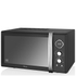 Swan Retro 25L Digital Combi Microwave with Grill - Black: Image 1