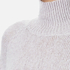 Paisie Women's Turtle Neck Jumper with Bell Sleeves - Lilac: Image 5