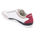 Lacoste Men's Misano 15 LCR SRM Trainers - Off White/Blue/Red: Image 4