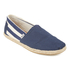TOMS Men's University Classics Slip-On Pumps - Navy Stripe: Image 2
