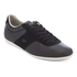 Lacoste Men's Turnier 316 1 Leather/Suede Trainers - Black: Image 2