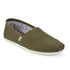 TOMS Men's Seasonal Classic Slip-On Pumps - Military Olive: Image 2