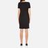 Boutique Moschino Women's Chic Dress T-Shirt Dress - Black: Image 3