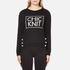 Boutique Moschino Women's Chic Knitted Jumper - Black: Image 1