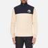 Billionaire Boys Club Men's Half-Zip Funnel Sweatshirt - Beige/Navy: Image 1