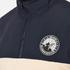 Billionaire Boys Club Men's Half-Zip Funnel Sweatshirt - Beige/Navy: Image 5