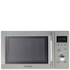 Daewoo KOR6N7RS Touch Control Solo Microwave Oven - Metallic: Image 1