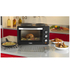 Tower T14013 28L Mini Oven with Double Hotplates - Black: Image 3
