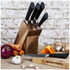 HOH Knife Set in Wooden Block (5 Piece): Image 3