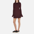 McQ Alexander McQueen Women's Volant Sleeve Dress - Port: Image 2
