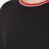 McQ Alexander McQueen Women's Cropped Sweatshirt - Darkest Black: Image 5