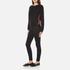 McQ Alexander McQueen Women's Cropped Sweatshirt - Darkest Black: Image 4